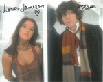 Tom Baker, Louise Jameson  -  Multi signed DOCTOR WHO Genuine Signed Autographs 10 x 8 COA 10263